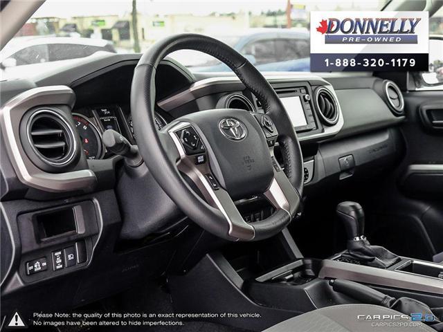 2018 Toyota Tacoma SR5 (Stk: CLKUR2215) in Kanata - Image 11 of 27