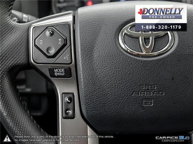 2018 Toyota Tacoma SR5 (Stk: CLKUR2215) in Kanata - Image 16 of 27