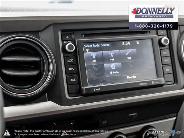 2018 Toyota Tacoma SR5 (Stk: CLKUR2215) in Kanata - Image 18 of 27