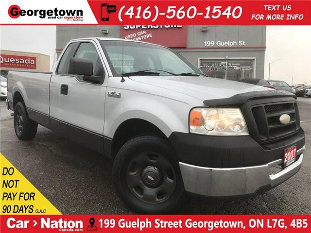 2007 Ford F-150 XL | REG CAB | 8FT BOX | GREAT AFFORDABLE TRUCK (Stk: P11498A) in Georgetown - Image 1 of 11