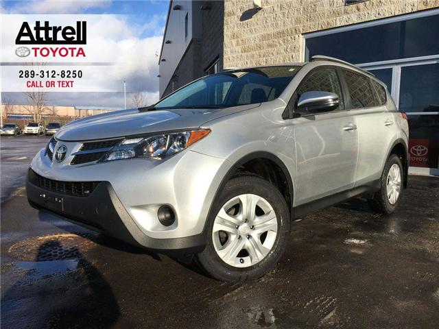 2015 Toyota RAV4 LE FWD UPGRADE PKG, HEATED SEATS, BACK UP CAMERA,  (Stk: 42797A) in Brampton - Image 1 of 25