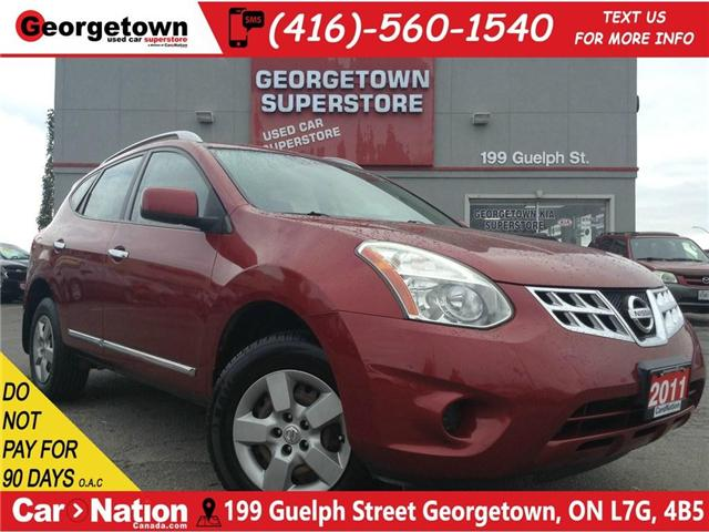 2011 Nissan Rogue S | ALL WHEEL DRIVE | 2.5L | AUX IN | (Stk: DR366A) in Georgetown - Image 1 of 23