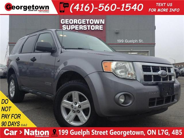 2008 Ford Escape ALLOY WHEELS   GREAT SHAPE  YOU CERTIFY YOU SAVE (Stk: P11538A) in Georgetown - Image 1 of 18
