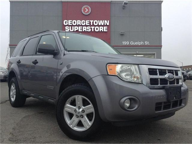 2008 Ford Escape ALLOY WHEELS   GREAT SHAPE  YOU CERTIFY YOU SAVE (Stk: P11538A) in Georgetown - Image 2 of 18