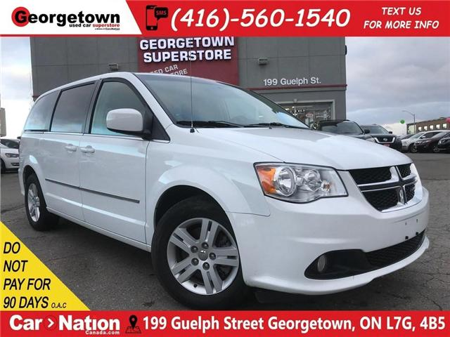 2017 Dodge Grand Caravan Crew | CAPTAINS | DUAL CLIMATE | REAR AIR | (Stk: DR420) in Georgetown - Image 1 of 30