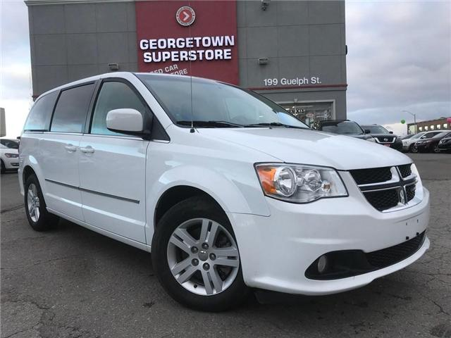 2017 Dodge Grand Caravan Crew | CAPTAINS | DUAL CLIMATE | REAR AIR | (Stk: DR420) in Georgetown - Image 2 of 30