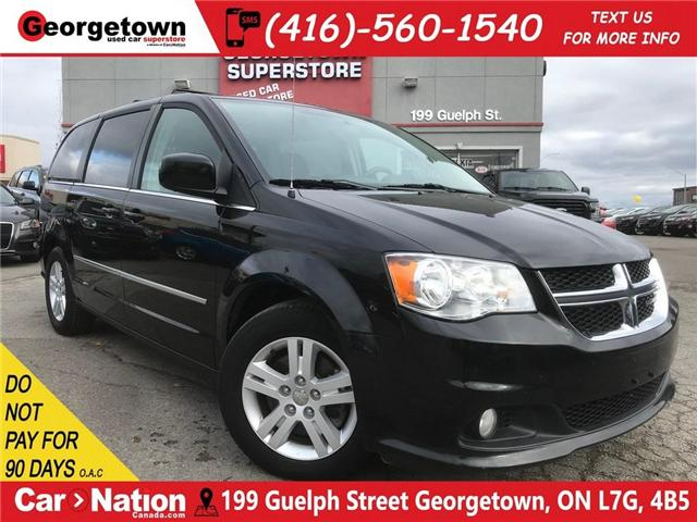 2017 Dodge Grand Caravan Crew| FULL STO-N-GO | ALL PWR WINDOWS (Stk: DR424) in Georgetown - Image 1 of 30