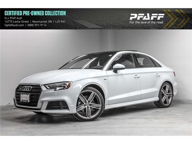 2018 Audi A3 2.0T Progressiv (Stk: 53110) in Newmarket - Image 1 of 21