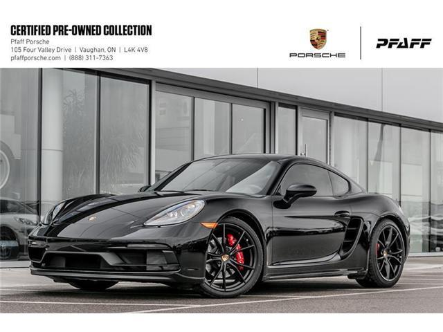 2018 Porsche 718 Cayman GTS (Stk: U7644) in Vaughan - Image 1 of 22