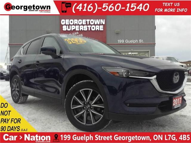 2017 Mazda CX-5 GT | NAVI | LEATHER | AWD | ROOF | CAMERA | (Stk: SR19100A) in Georgetown - Image 1 of 30