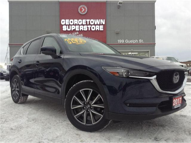 2017 Mazda CX-5 GT | NAVI | LEATHER | AWD | ROOF | CAMERA | (Stk: SR19100A) in Georgetown - Image 2 of 30