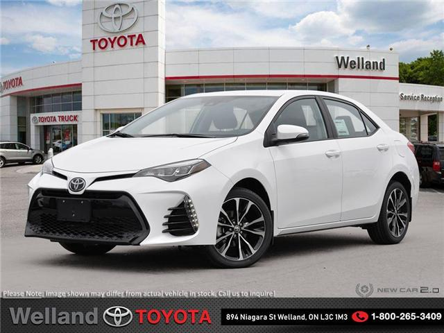 2019 Toyota Corolla SE Upgrade Package (Stk: COR6323) in Welland - Image 1 of 24