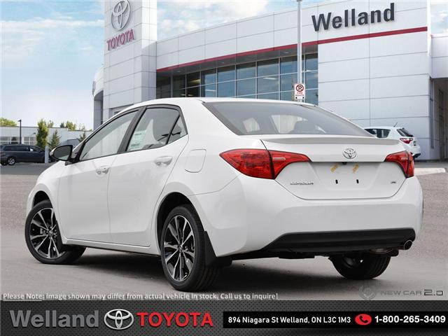 2019 Toyota Corolla SE Upgrade Package (Stk: COR6323) in Welland - Image 4 of 24