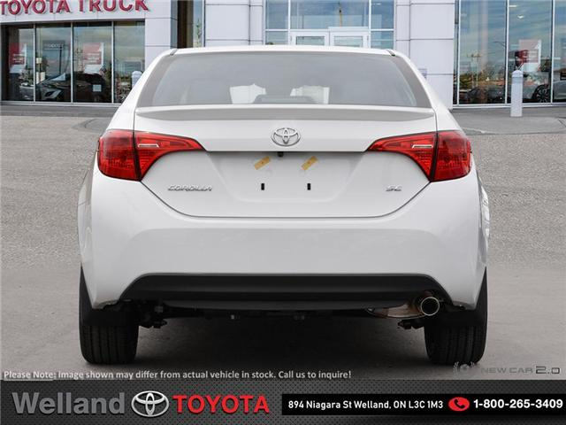 2019 Toyota Corolla SE Upgrade Package (Stk: COR6323) in Welland - Image 5 of 24