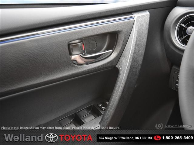 2019 Toyota Corolla SE Upgrade Package (Stk: COR6323) in Welland - Image 17 of 24