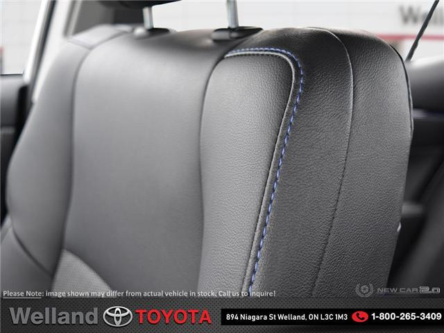 2019 Toyota Corolla SE Upgrade Package (Stk: COR6323) in Welland - Image 21 of 24