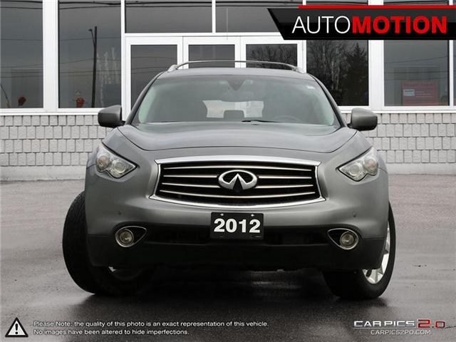 2012 Infiniti FX35 Premium (Stk: 18_1344) in Chatham - Image 2 of 27