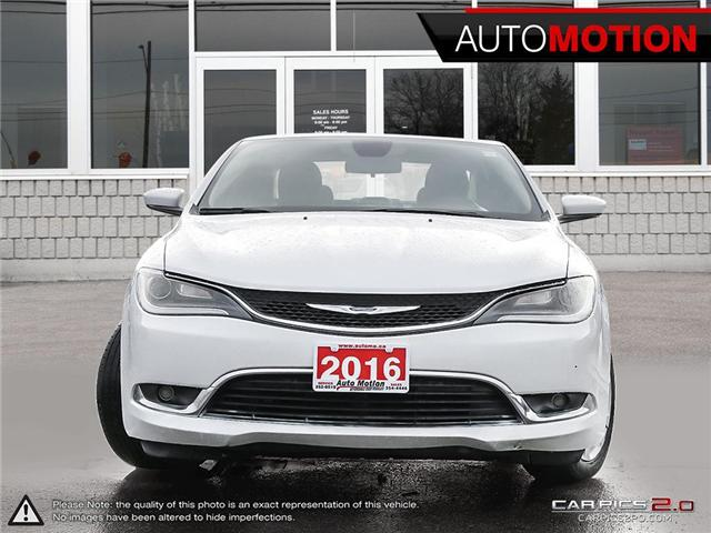 2016 Chrysler 200 Limited (Stk: 18_1320) in Chatham - Image 2 of 27