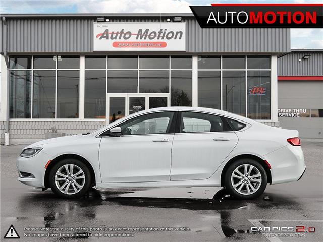 2016 Chrysler 200 Limited (Stk: 18_1320) in Chatham - Image 3 of 27