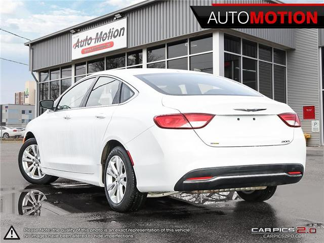 2016 Chrysler 200 Limited (Stk: 18_1320) in Chatham - Image 4 of 27