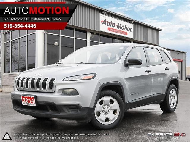 2014 Jeep Cherokee Sport (Stk: 18_1332) in Chatham - Image 1 of 27