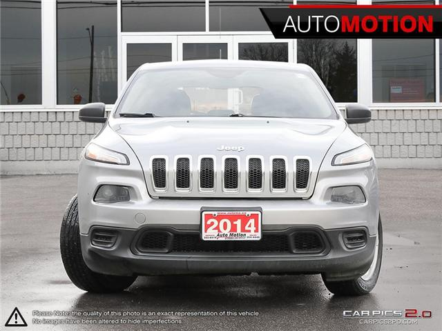 2014 Jeep Cherokee Sport (Stk: 18_1332) in Chatham - Image 2 of 27