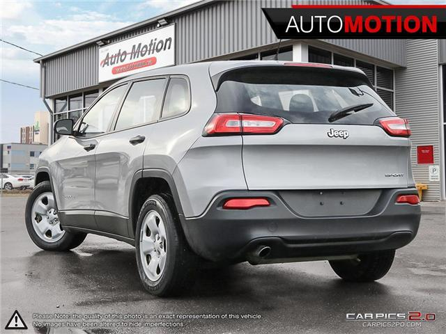 2014 Jeep Cherokee Sport (Stk: 18_1332) in Chatham - Image 4 of 27