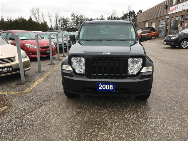 2008 Jeep Liberty Sport 4WD (Stk: P3631) in Newmarket - Image 2 of 16