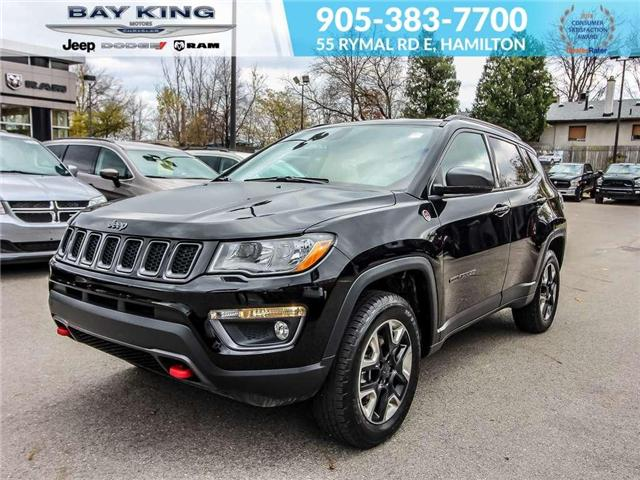 2017 Jeep Compass Trailhawk (Stk: 6656) in Hamilton - Image 1 of 21