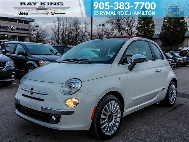 2017 Fiat 500C Lounge (Stk: 6705) in Hamilton - Image 1 of 20