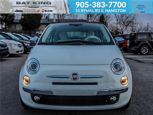2017 Fiat 500C Lounge (Stk: 6705) in Hamilton - Image 2 of 20