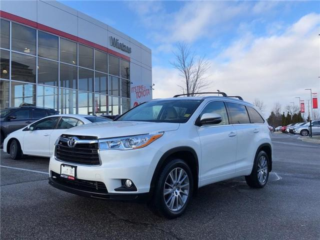 2015 Toyota Highlander XLE (Stk: U2253) in Vaughan - Image 1 of 23