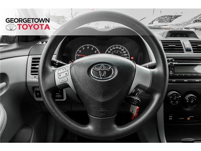 2013 Toyota Corolla  (Stk: 13-14627) in Georgetown - Image 9 of 18