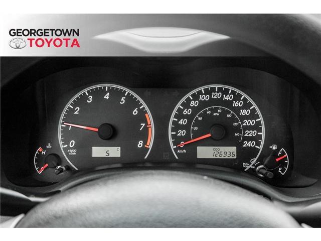 2013 Toyota Corolla  (Stk: 13-14627) in Georgetown - Image 10 of 18