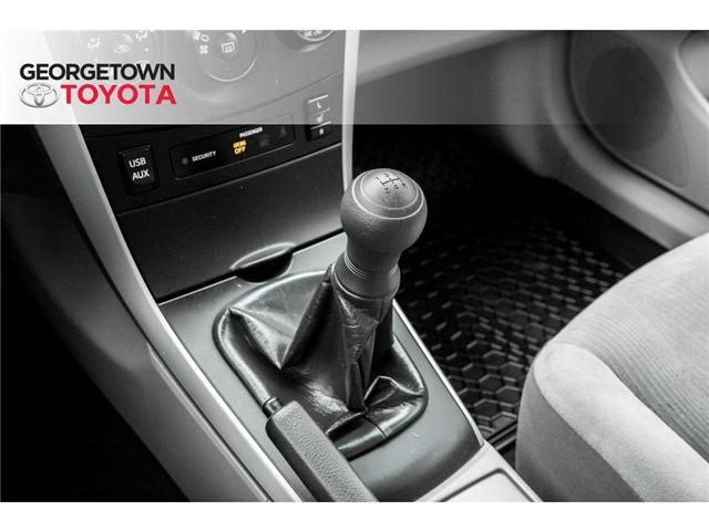 2013 Toyota Corolla  (Stk: 13-14627) in Georgetown - Image 12 of 18