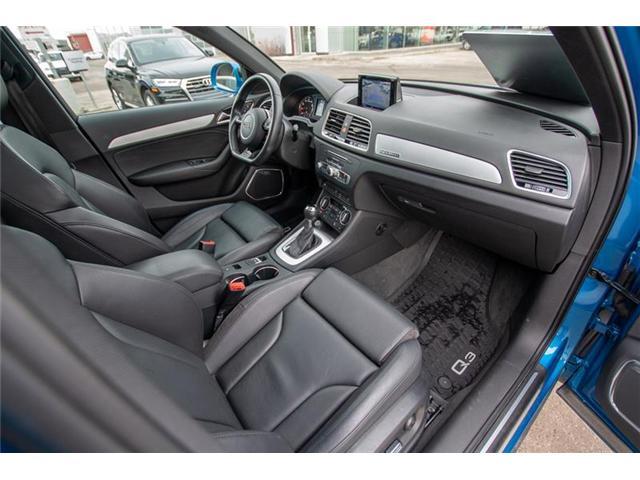2016 Audi Q3 2.0T Technik (Stk: U0730) in Calgary - Image 11 of 13