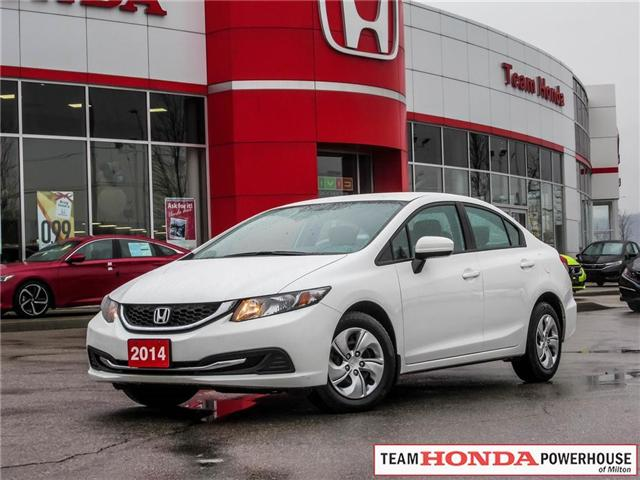 2014 Honda Civic LX (Stk: 3217) in Milton - Image 1 of 24