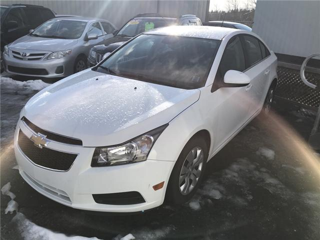 2014 Chevrolet Cruze 1LT (Stk: U31098) in Lower Sackville - Image 1 of 2