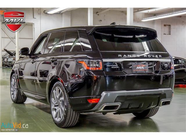 2019 Land Rover Range Rover Sport HSE (Stk: ) in Oakville - Image 8 of 41