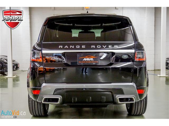 2019 Land Rover Range Rover Sport HSE (Stk: ) in Oakville - Image 9 of 41