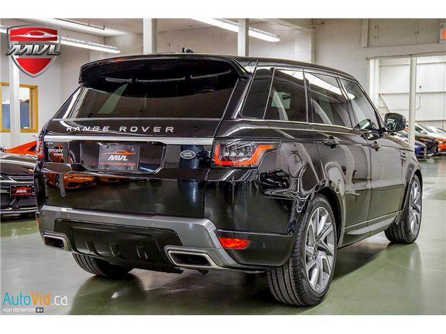 2019 Land Rover Range Rover Sport HSE (Stk: ) in Oakville - Image 10 of 41