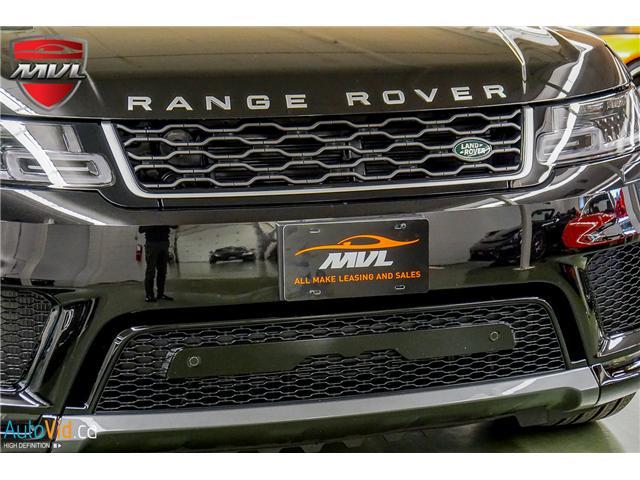 2019 Land Rover Range Rover Sport HSE (Stk: ) in Oakville - Image 14 of 41