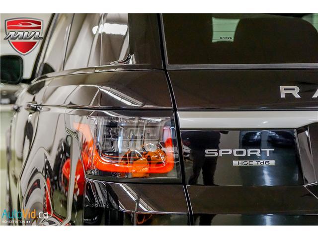 2019 Land Rover Range Rover Sport HSE (Stk: ) in Oakville - Image 16 of 41