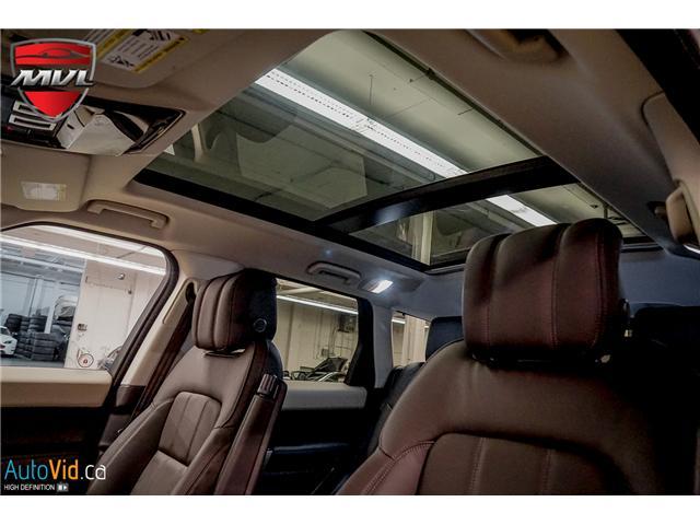 2019 Land Rover Range Rover Sport HSE (Stk: ) in Oakville - Image 24 of 41