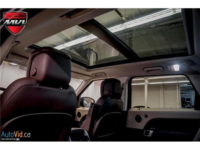 2019 Land Rover Range Rover Sport HSE (Stk: ) in Oakville - Image 30 of 41
