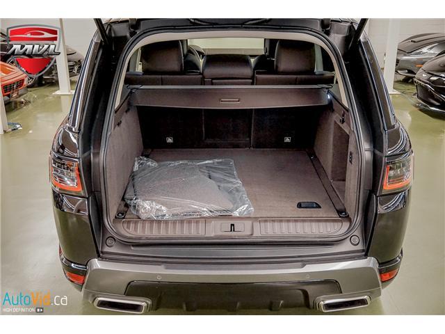 2019 Land Rover Range Rover Sport HSE (Stk: ) in Oakville - Image 31 of 41