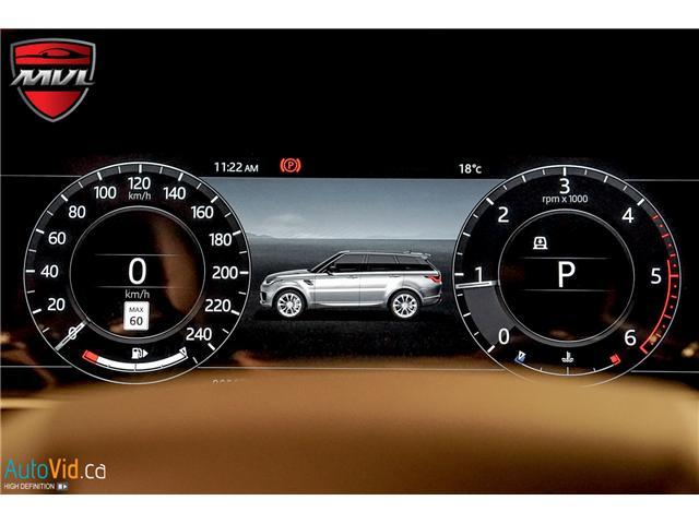 2019 Land Rover Range Rover Sport HSE (Stk: ) in Oakville - Image 34 of 41