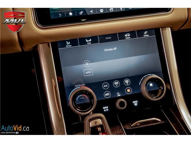 2019 Land Rover Range Rover Sport HSE (Stk: ) in Oakville - Image 37 of 41