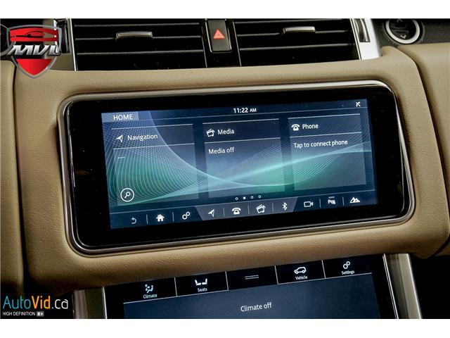 2019 Land Rover Range Rover Sport HSE (Stk: ) in Oakville - Image 38 of 41