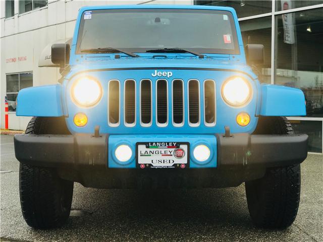 2018 Jeep Wrangler JK Unlimited Sahara (Stk: EE899020) in Surrey - Image 3 of 26